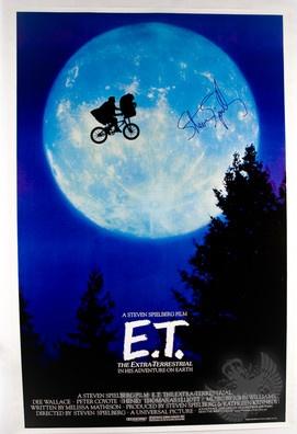 """""""E.T"""" movie poster"""