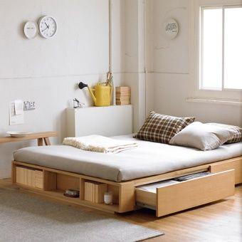 love this bed | muji