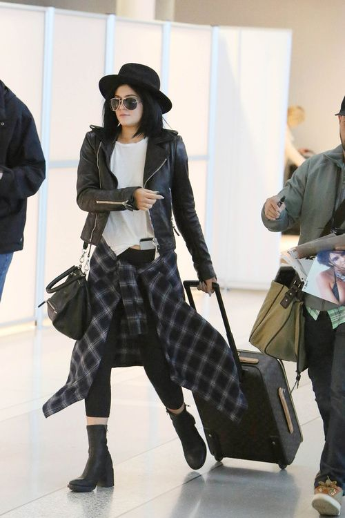 Kylie Jenner LAX airport June 16 2014