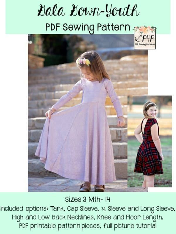 Gala Gown Youth In 2020 Gala Gowns Patterns For Pirates Gowns