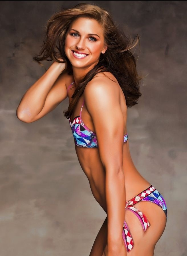 Alex Morgan in the 2012 Sports Illustrated Swimsuit Issue #soccer #olympics