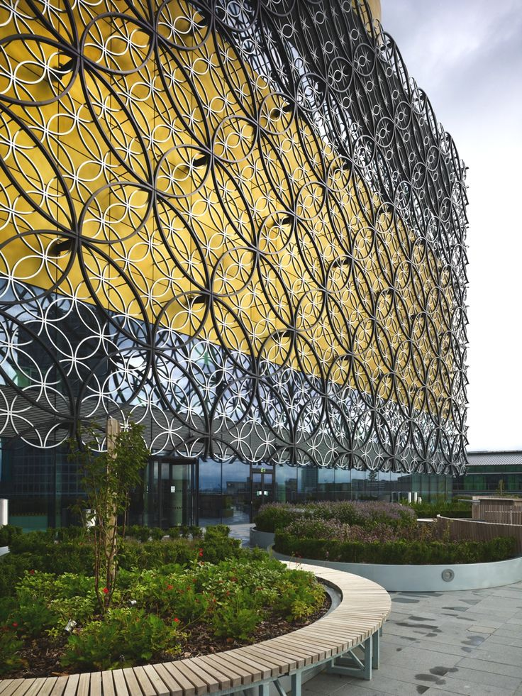 Inspiration on quilting surface ideas ✄ Birmingham's 21st-century library designed by Mecanoo - Adelto