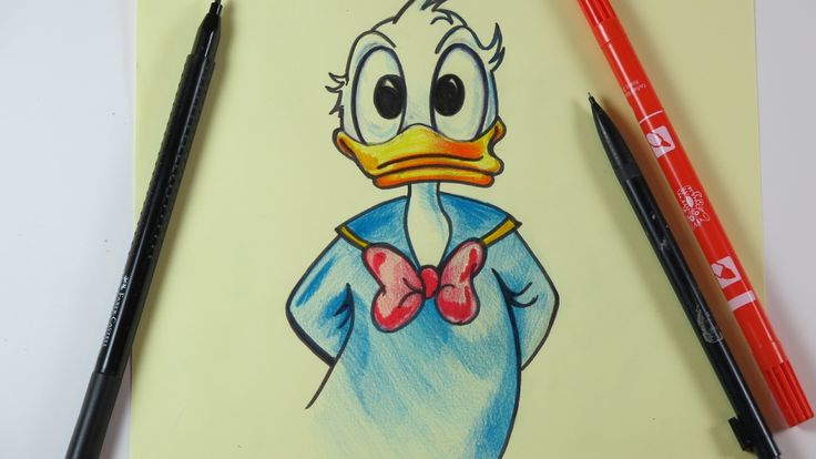 Hi guys! In this video I am drawing Donald. Enjoy it! Thanks for watching our videos! Please subscribe to our channel https://www.youtube.com/channel/UCKu4TK...