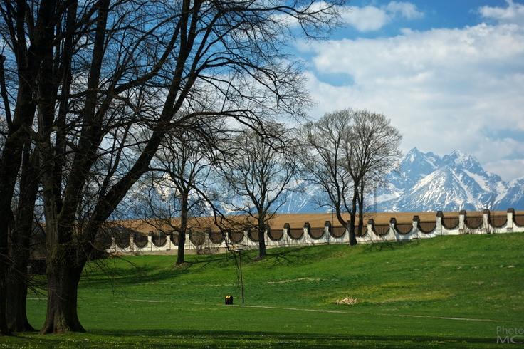 View from castle park by Milan Cernak, via 500px