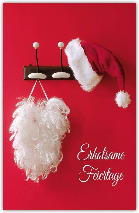 Lustige Weihnachtskarte \
