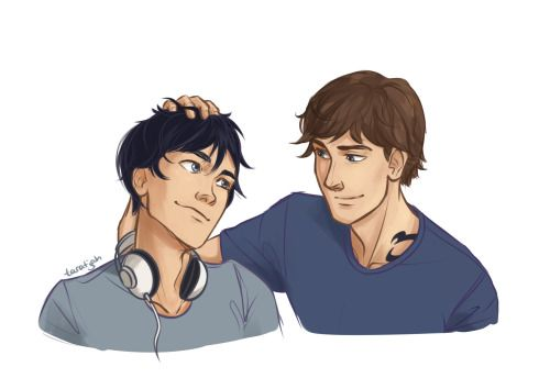 taratjah:  I loved when Julian ruffled Ty's hair and Ty leaned into it like a cat. It was the cutest.