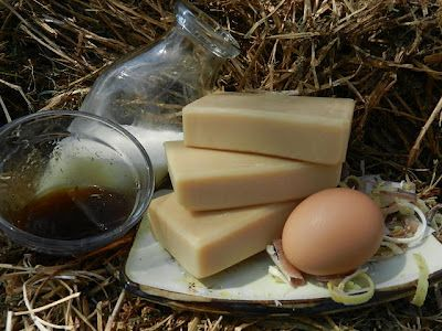 Awesome walk through for homemade milk soap.  Also check out this website for discussion on helping it come out successfully.  http://www.homesteadingtoday.com/country-homemaking/soapmaking/217835-cow-milk-vs-goat-milk-soap-experiment.html