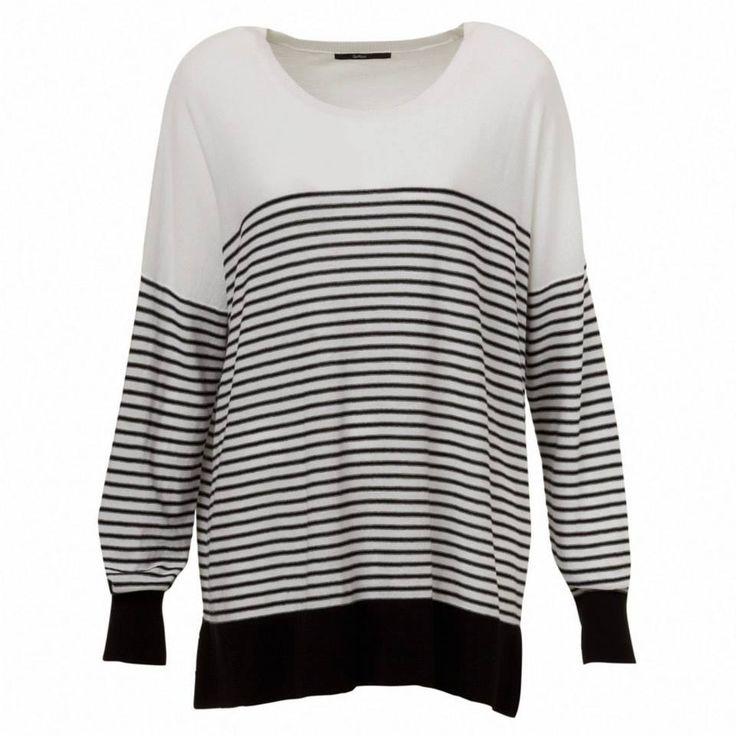 Sportsgirl - Stripe Cotton Jumper
