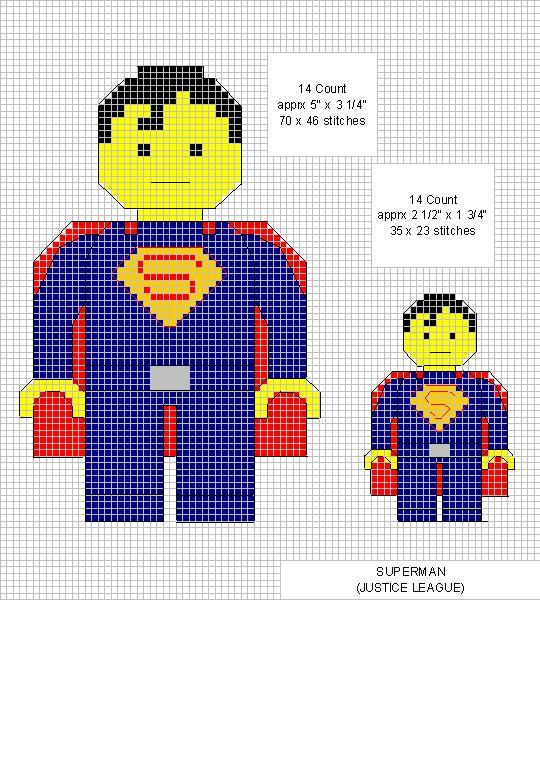 Superman Cross Stitch
