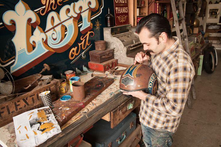 Harley Davidson Australia Lifts The Lid on New Art Exhibition :: Onya Magazine #onyamag