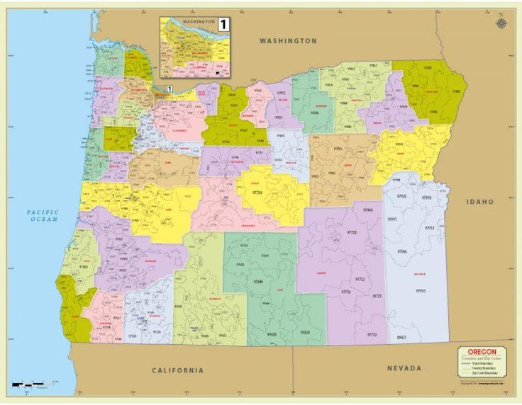 Oregon Zip Code Map Images Diagram Writing Sle Ideas And Guide: Oregon Zip Code Map At Slyspyder.com