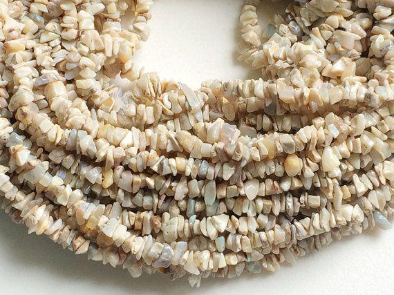 WHOLESALE 5 Strands Australian Opal Chips by gemsforjewels on Etsy