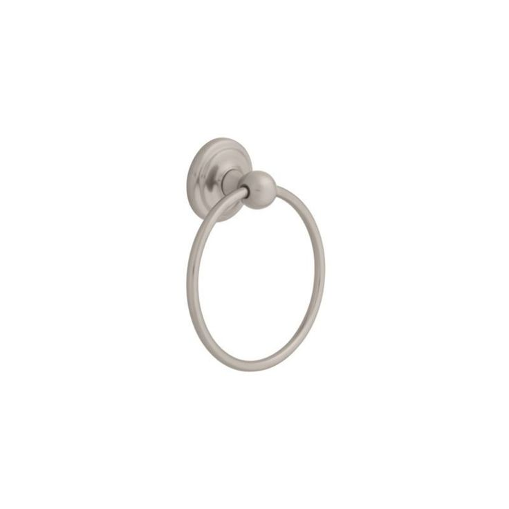 """Franklin Brass 127722 6 3/8"""" Diameter Contemporary Towel Ring from the Franklin Satin Nickel Accessory Towel Ring"""