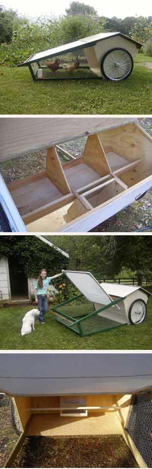 Chicken Tractor idea: