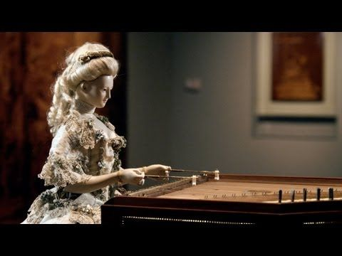 Demonstration of David Roentgen's Automaton of Queen Marie Antoinette, The Dulcimer Player - YouTube