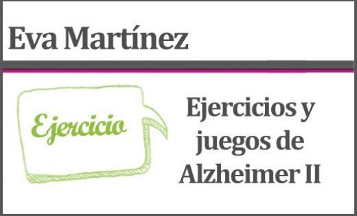 Ejercicios y juegos de Alzheimer II   centro virtual sobre el envejecimiento