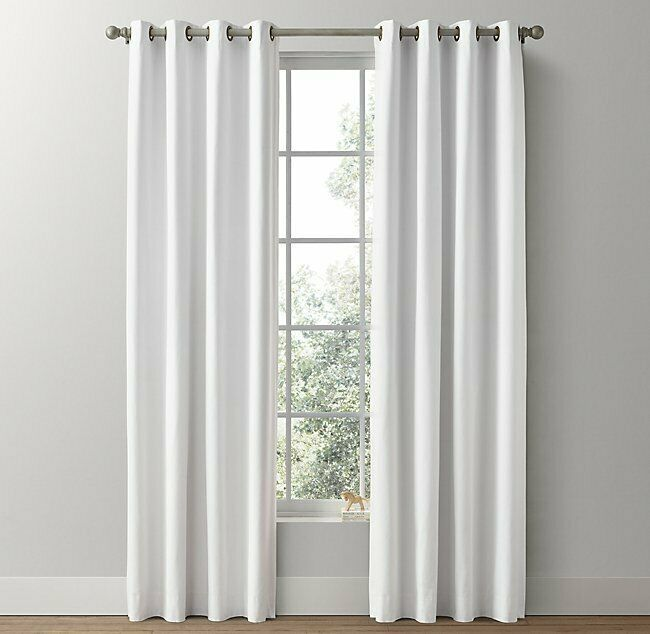 Drapery Panels Canvas Curtains