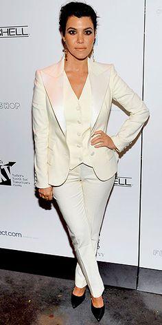 kourtney kardashian tuxedo - Google Search