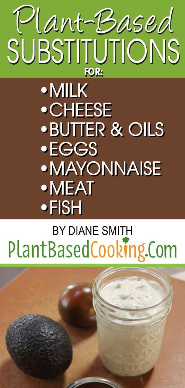 Plant Based Substitutions Article Whether It S Dairy Eggs Meat Or Seafood Don T Fr Plant Based Diet Recipes Plant Based Nutrition Plant Based Foods List