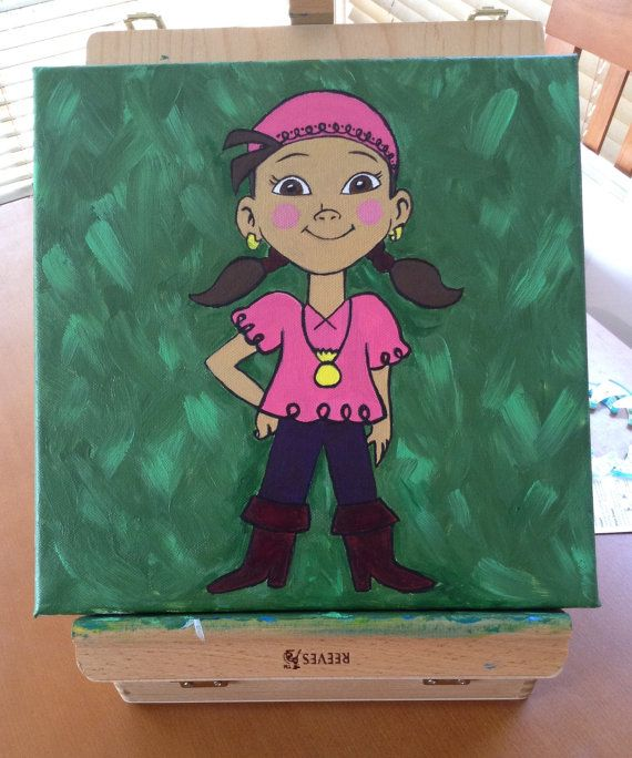 Painting acrylic canvas Izzy Jake and the Netherland by RTMDesigns