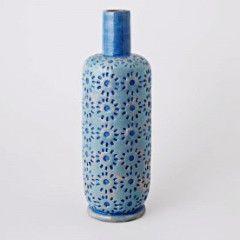 Have You Met Miss Jones Gothenburg Vase - sky blue