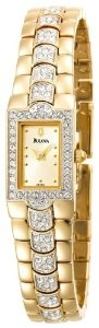 Bulova Women's 98T89 Crystal Watch