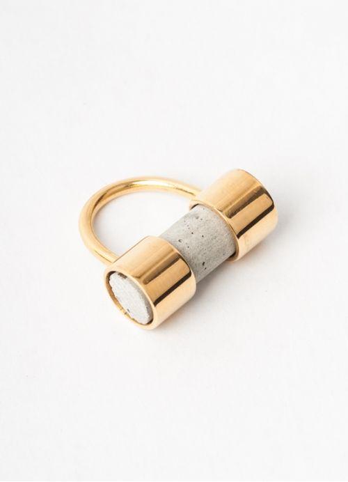 Ironworks Ring . mariaDovale . fashion design . scar-id store