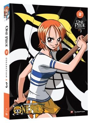 One Piece DVD Collection 3 (Hyb) (Eps 54-78) Uncut #RightStuf2013