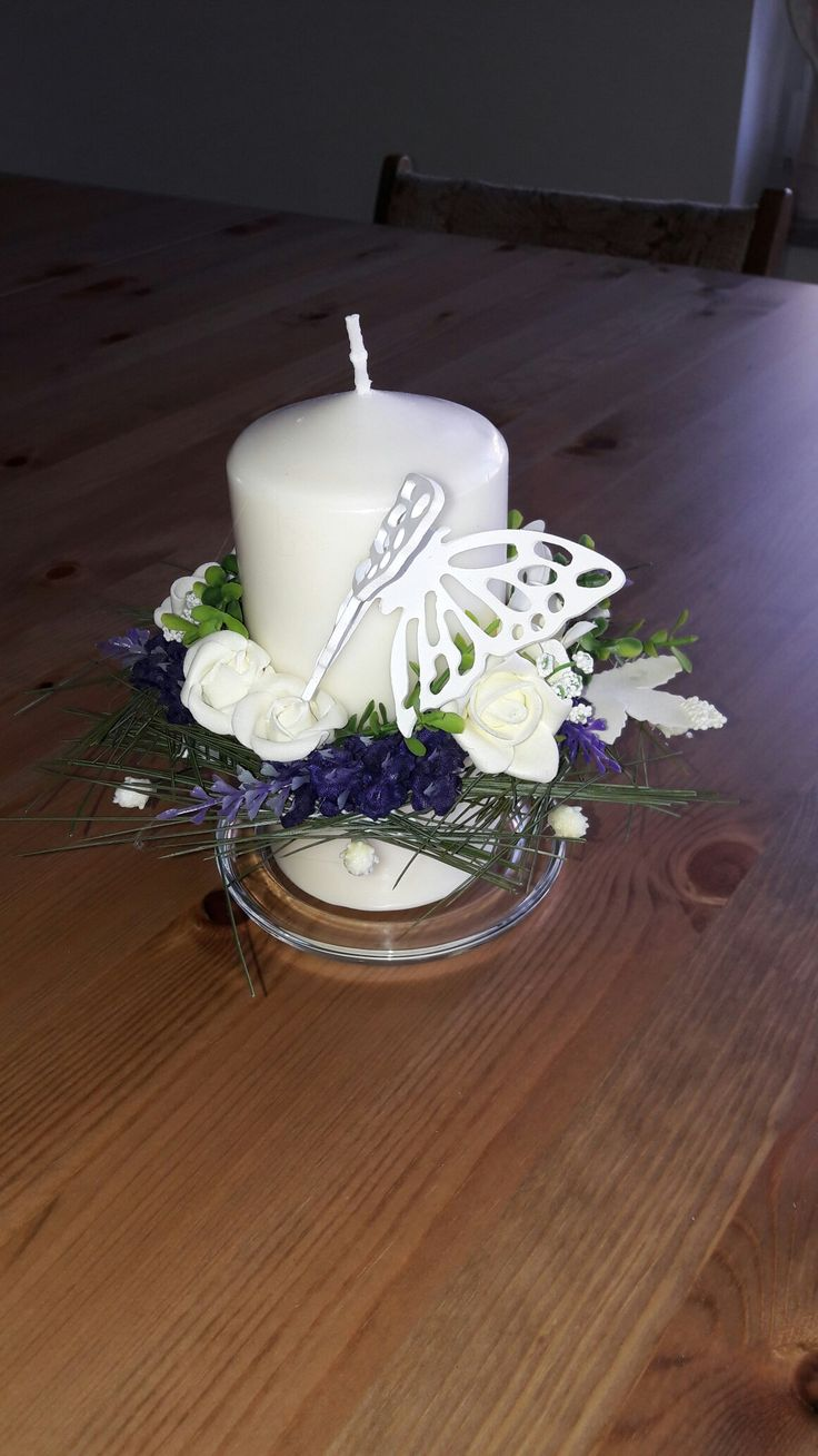 Strojna świeca na okrągłą rocznicę urodzin