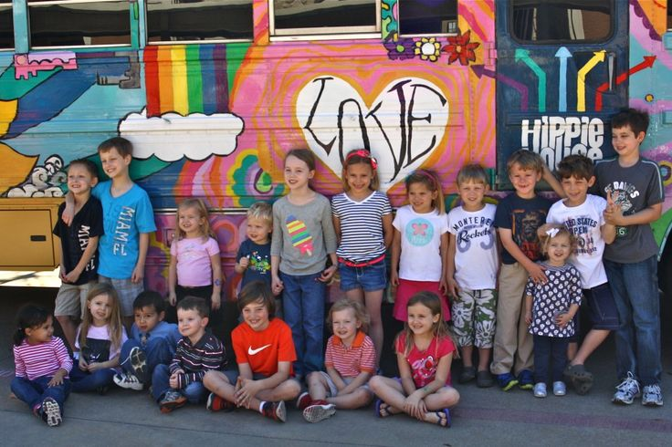 Kids can ride the Locomotion Party Bus to deliver Meals on Wheels at WeeVolunteer! Photo c/o: Wee Volunteer