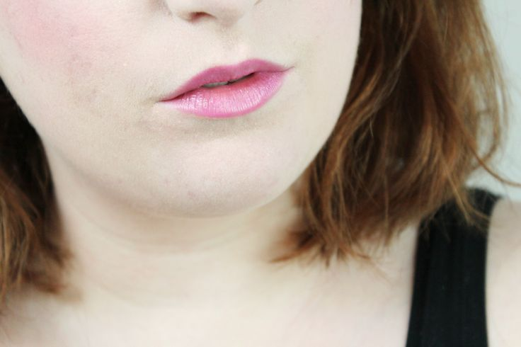 Anabelle Lipsies Fruit Punch review photo swatch