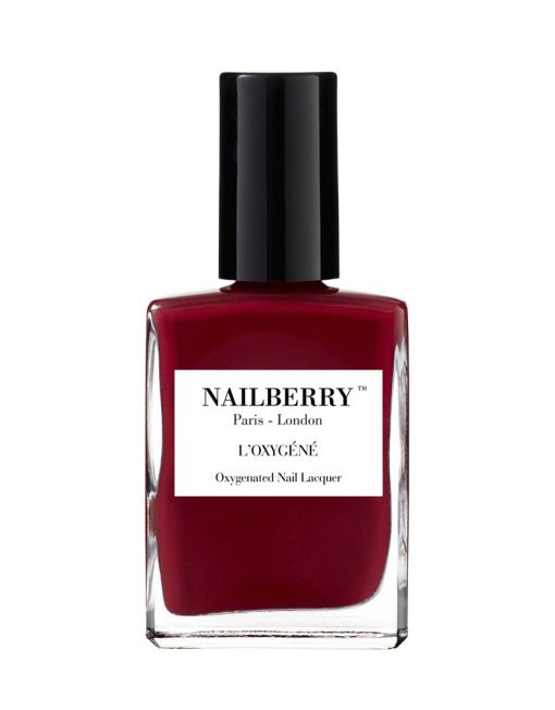 Nailberry Le Temps des Cerises - Oxygenated deep red burgundy