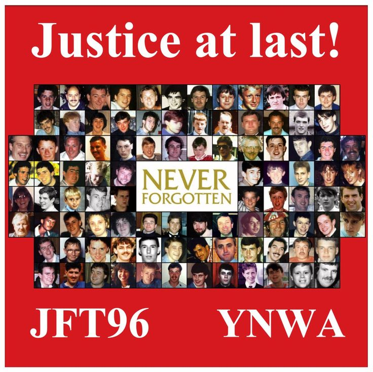 Justice at last! #JFT96 #YNWA #LFC #LFCFamily ##Hillsborough #JusticeForThe96 #DontByTheSun #Liverpool #LiverpoolFC #WeAreLiverpool #27Years #JusticeAtLast #Justice #Verdict #Inquest #YNWA96