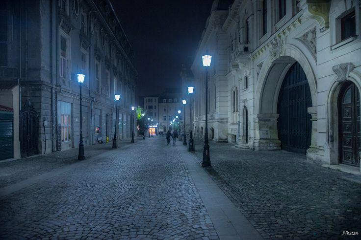 old heart of Bucharest by Rikitza.deviantart.com on @DeviantArt