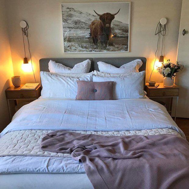 уютная, маленькая спальня 10 кв м
