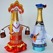 Одежда для бутылок - Ярмарка Мастеров - ручная работа, handmade