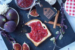 Fruchtig süße Feigenmarmelade