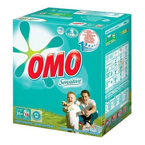 Стиральный порошок OMO Sensitive для белого и цветного белья | Финские товары по низкой цене
