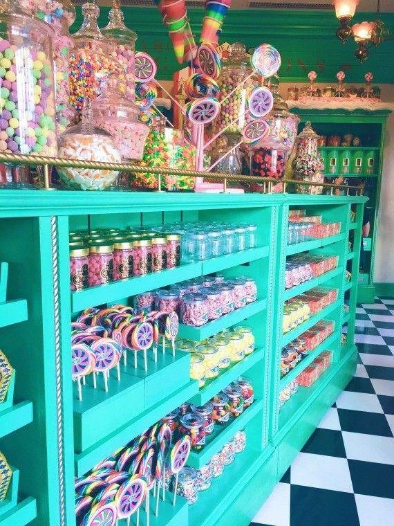Honeyduke's Candy Shop in Hogsmeade