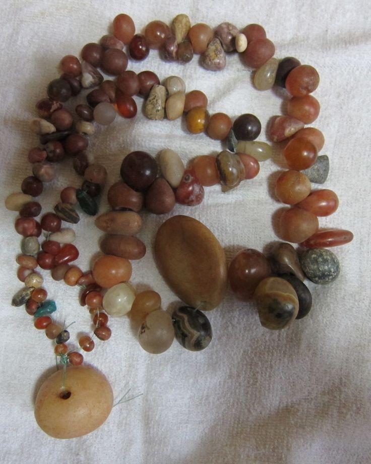 Stone beads Dogon