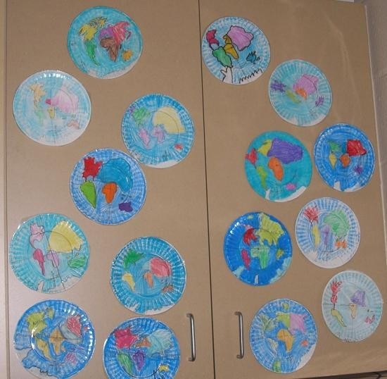 geography plates