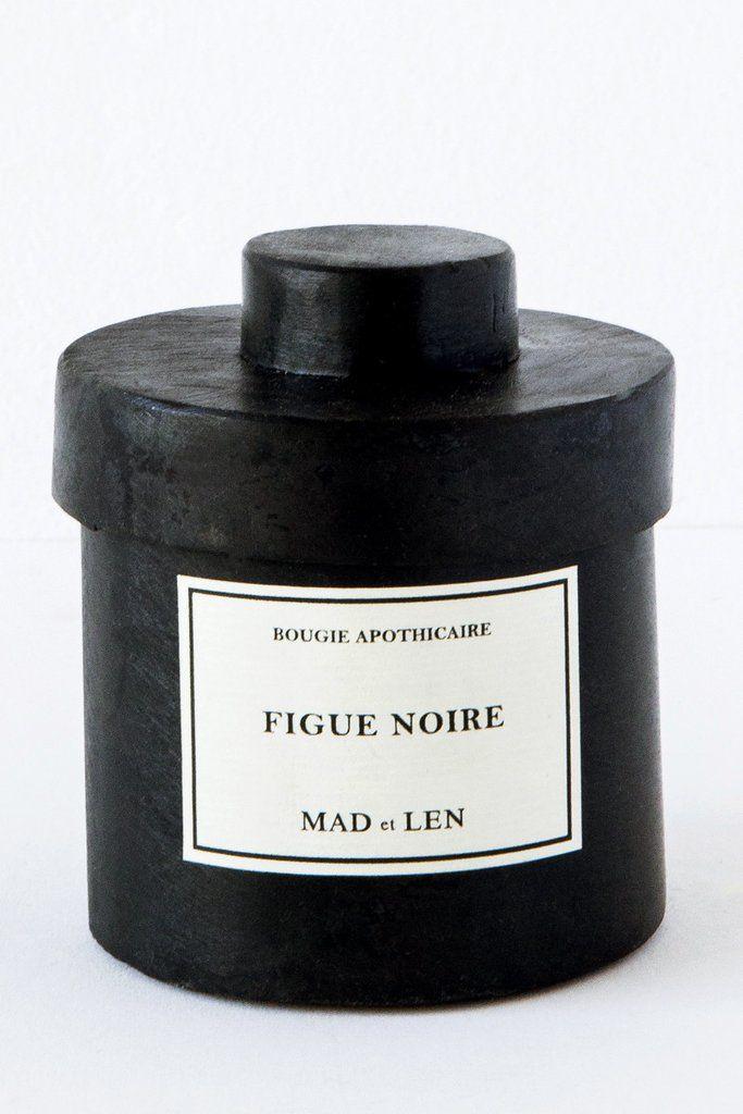 Mad Et Len Figue Noire Candle With Images Black Afghan Black