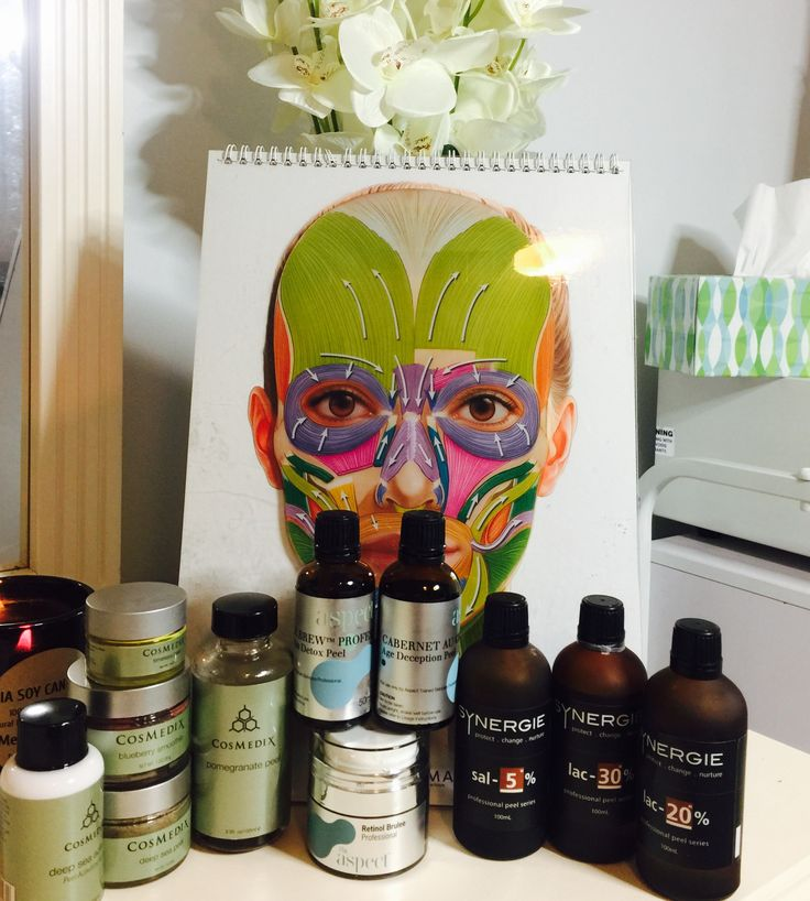 Laser Skin & Body chemical peel range💕💜