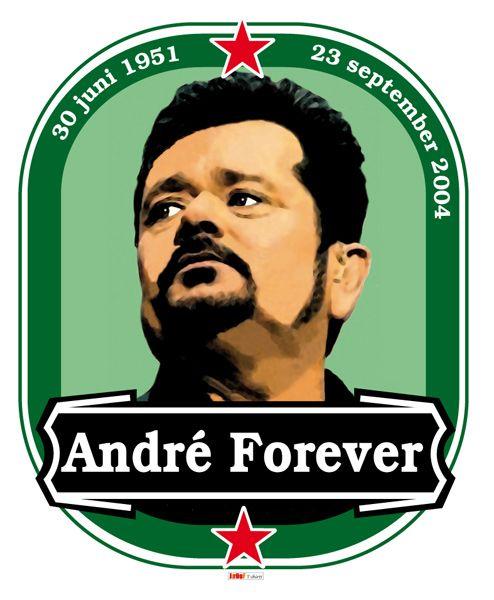 Grafisch kunst door Jarod - Andre Hazes Heineken shirt . Te koop via: http://link.marktplaats.nl/m875744784