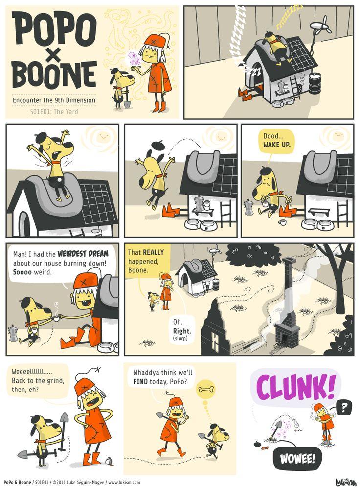 Popo and Boone S01E01 by Luke Seguin-Magee