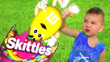 "BAD BABY ГИГАНТСКИЙ СКИТЛС И M&M'S Bad Baby Giant Candies Skittles M&M'S http://video-kid.com/21146-bad-baby-gigantskii-skitls-i-m-m-s-bad-baby-giant-candies-skittles-m-m-s.html  BAD BABY ГИГАНТСКИЙ СКИТЛС И M&M'S Bad Baby Giant Candies Skittles M&M'S ROMA TIME - ▲Подписывайся на мой канал ROMA TIME: ▲Смотри еще больше видео здесь: ▲Спасибо за просмотр▼▲Thanks for watching▼Композиция ""Heartbreaking"" принадлежит исполнителю Kevin MacLeod. Лицензия: Creative Commons Attribution…"