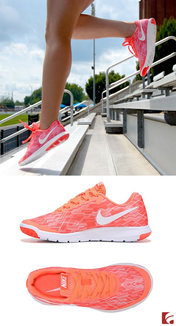 Putting in work is a whole lot easier if you have the right pair of shoes. Enter Nike. Not only does this style look fresh, but it performs flawlessly. Get it, girl.