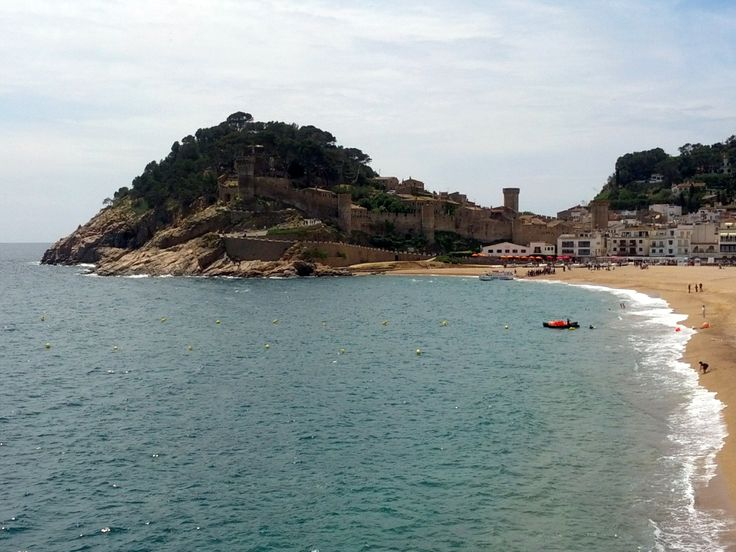 Tossa de Mar #TossaDeMar #CostaBrava #dosmaletas
