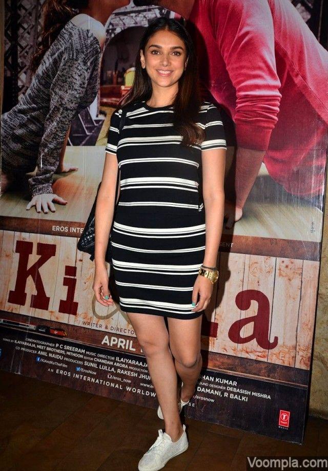 Amitabh Bachchan, Varun, Ayushmann, Athiya and Aditi watch Ki and Ka