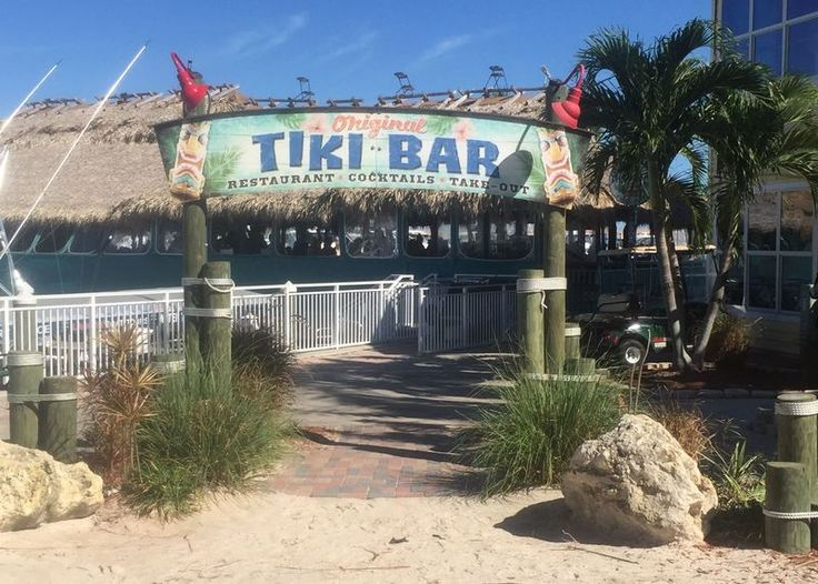 """The Original Tiki Bar opened in 1990, was expanded in 1998, and was renovated after hurricane damage in 2004. The restaurant has at least a few Florida-style tiki carvings. It is unclear what the """"original"""" is in reference to...."""